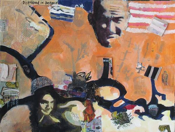 Painting - Something Strange by Linda Novick