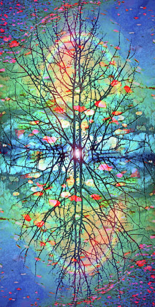 Wall Art - Digital Art - Sometimes Light Needs To Come From The Center by Tara Turner