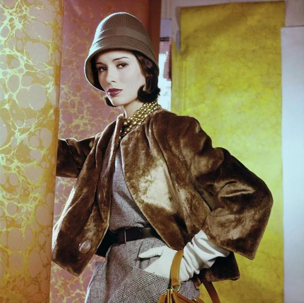 Photograph - Sondra Peterson In Ritter Bros by Horst P. Horst