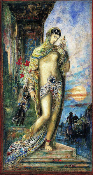 Wall Art - Painting - Song Of Songs - Digital Remastered Edition by Gustave Moreau