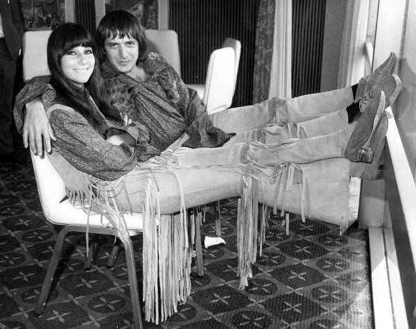 Sonny Bono Wall Art - Photograph - Sonny And Cher by Douglas Miller