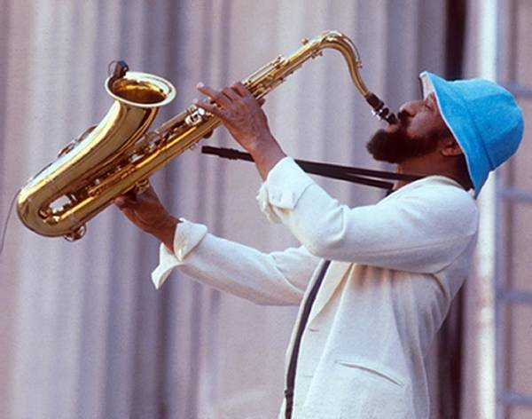 Wall Art - Photograph - Sonny Rollins Performing by Tom Copi