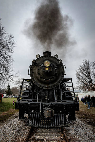 Photograph - Soo 1003 In Plymouth by Randy Scherkenbach