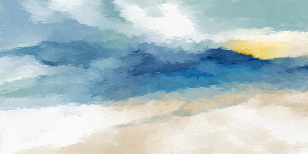 Waves Mixed Media - Soothing Memory- Art By Linda Woods by Linda Woods