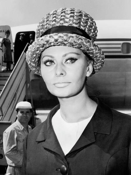 Photograph - Sophia Loren In Rome 1964 by Keystone-france