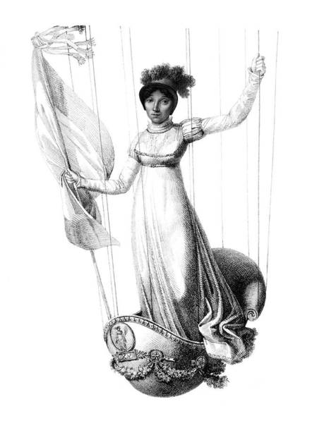 Photograph - Sophie Blanchard, French Aeronaut by Science Source