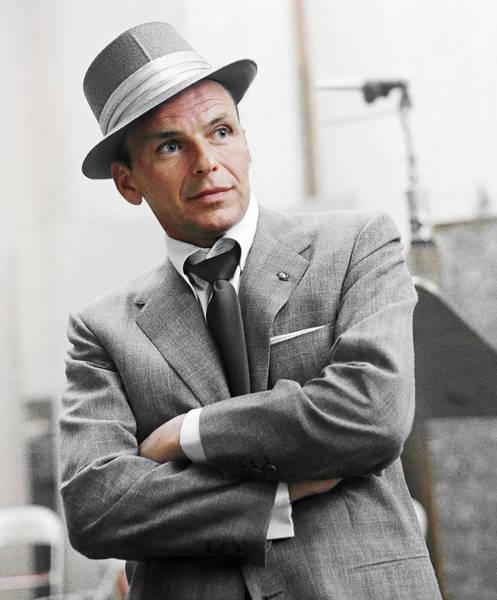 Wall Art - Photograph - Sophisticated Frank Sinatra by Daniel Hagerman