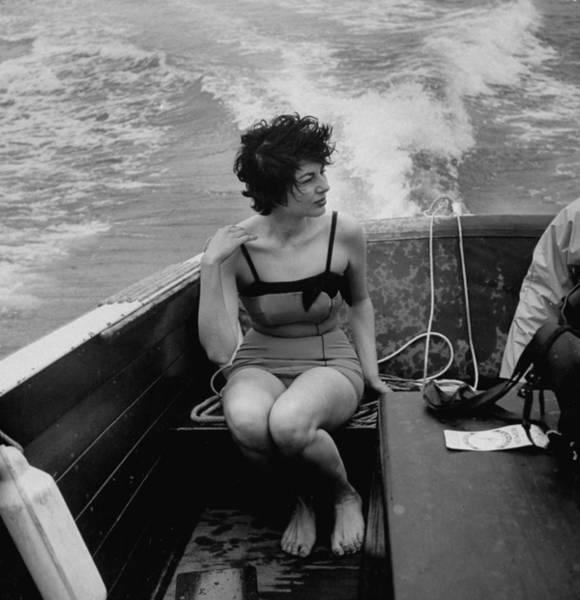 Bermuda Photograph - Soraya Rf Iran Rf by Gordon Parks
