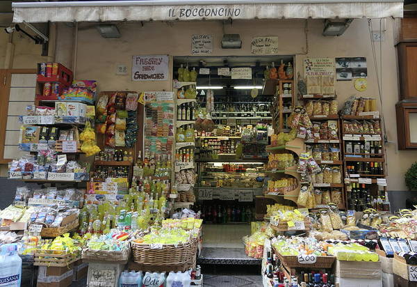 Photograph - Sorrento Shopping by Peter Skelton