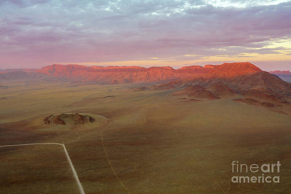 Wall Art - Photograph - Sossusvlei Namibia Sunset Ridge by Mike Reid