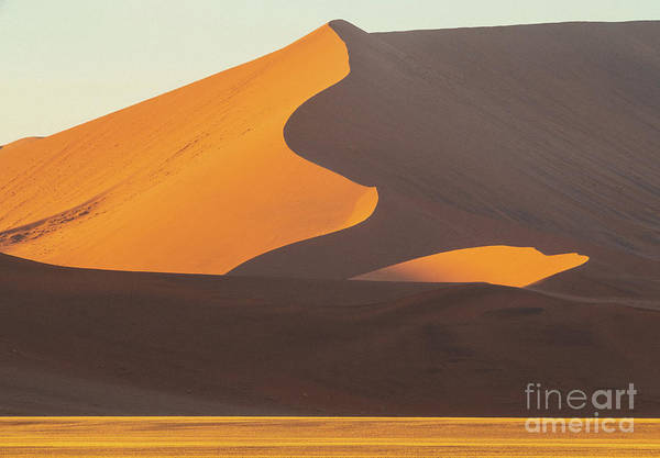 Wall Art - Photograph - Sossusvlei Shades Of Sand by Mike Reid