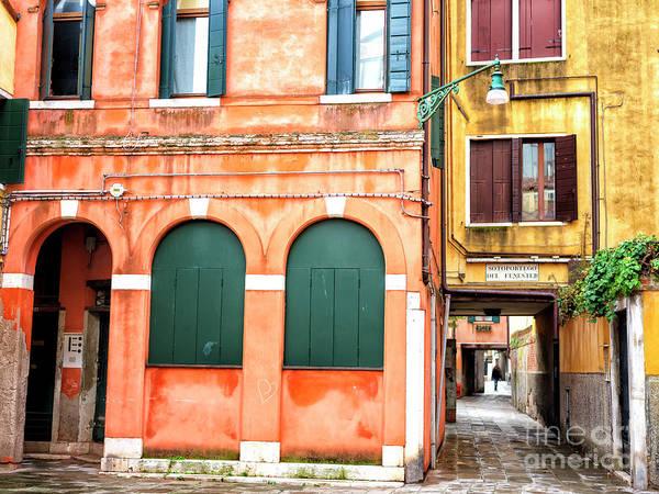 Photograph - Sotoportego Del Fenester In Venezia by John Rizzuto