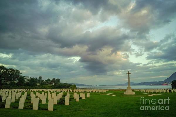 Wall Art - Photograph - Souda Bay War Cemetery, Crete K4 by Vladi Alon