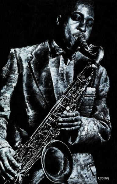 Wall Art - Painting - Soul Jazz by Richard Young