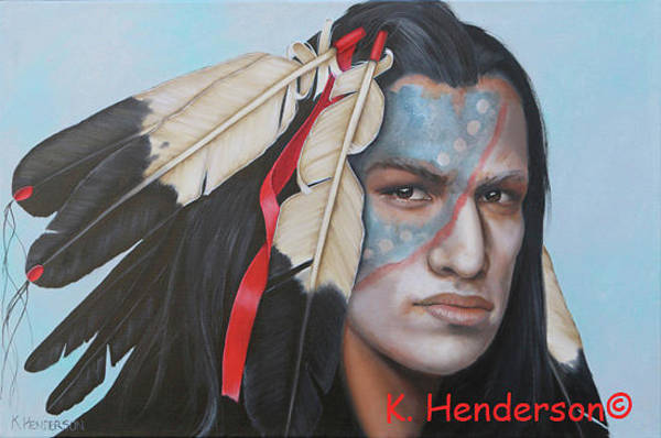 Wall Art - Painting - Soul Of The Years By K Henderson by K Henderson