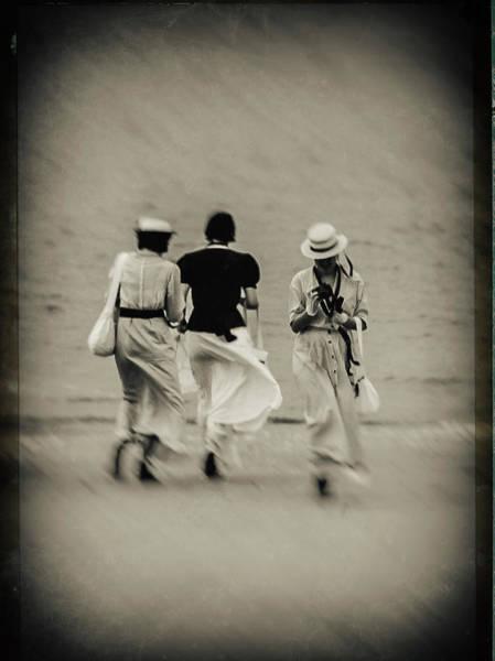Photograph - Soulac 1900 17 by Jorg Becker