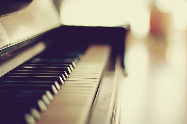 Piano Photograph - Sound Of Piano by Christian.plochacki