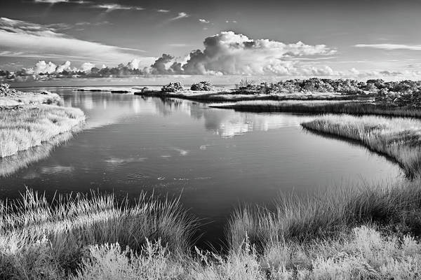 Wall Art - Photograph - Sound Side Lagoon Outer Banks by Dan Carmichael