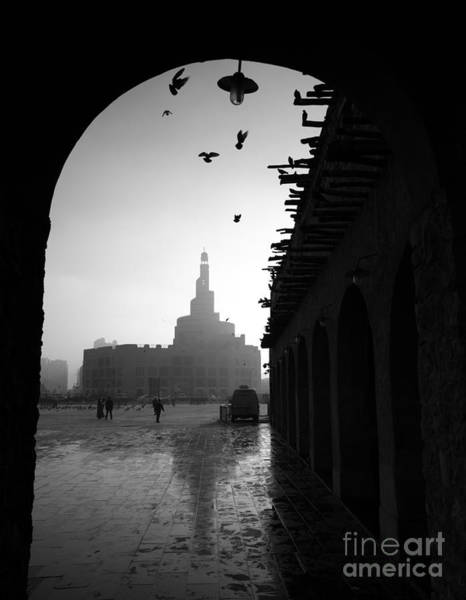 Arabian Wall Art - Photograph - Souq Waqif In Doha. Qatar, Middle East by Ahmed Adly
