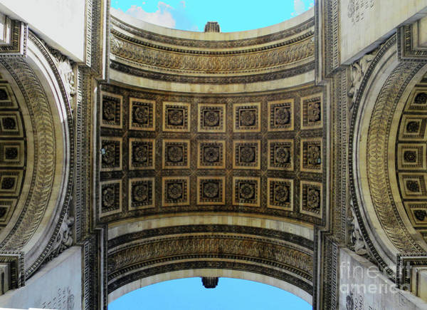 Photograph - Sous L'arc De Triomphe by Rick Locke