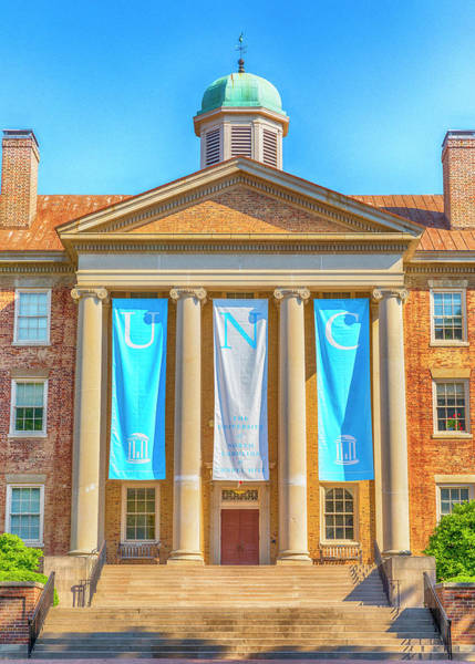 Wall Art - Photograph - South Building - Unc #1 by Stephen Stookey