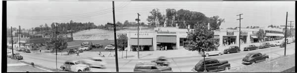 Washington Capitals Photograph - South Capital St. Shopping Center So by Fred Schutz Collection