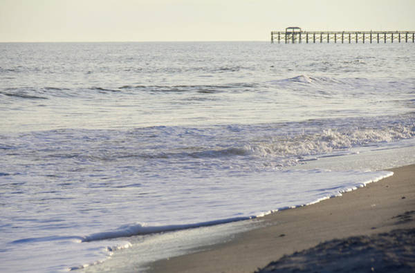 Photograph - South Carolina Pier Sunset by Andrea Anderegg