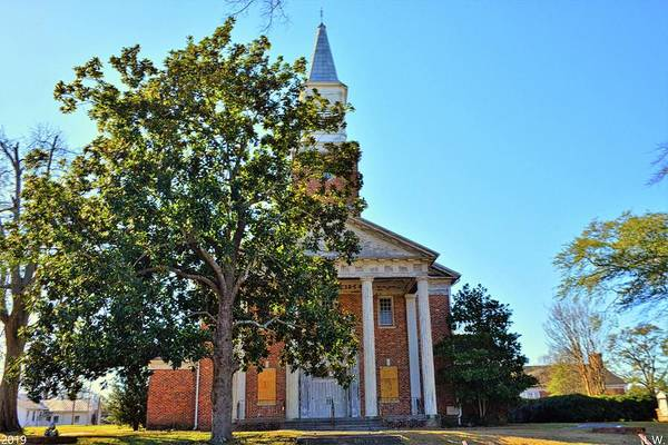 Photograph - South Carolina State Hospital Chapel Of Hope 2 by Lisa Wooten