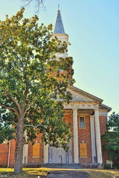 Photograph - South Carolina State Hospital Chapel Of Hope by Lisa Wooten