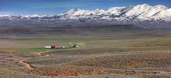 Photograph - South Central Idaho Ranch by Leland D Howard