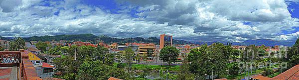 Wall Art - Photograph - South Cuenca, Ecuador, Panorama by Al Bourassa