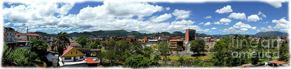 Wall Art - Photograph - South Cuenca, Ecuador, Panorama II by Al Bourassa