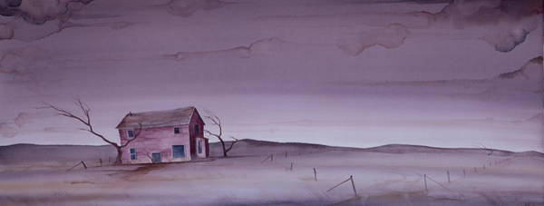 Painting - South Dakota Homestead by Scott Kirby