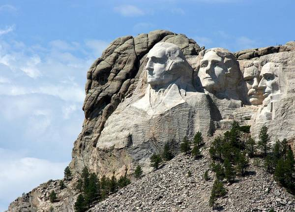 Rushmore Photograph - South Dakota by J.castro