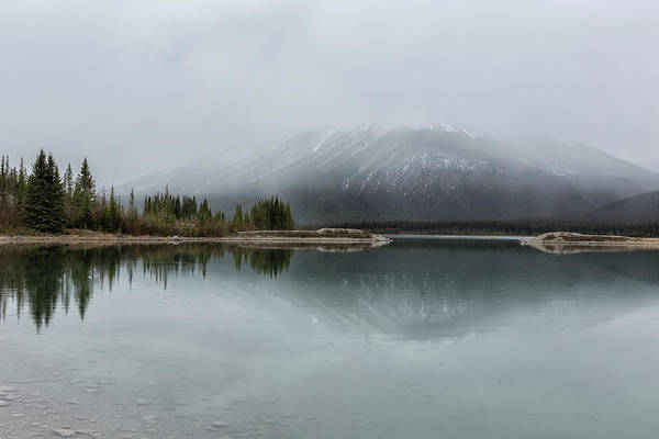 Photograph - South End Of Spray Lakes Reservoir by Belinda Greb