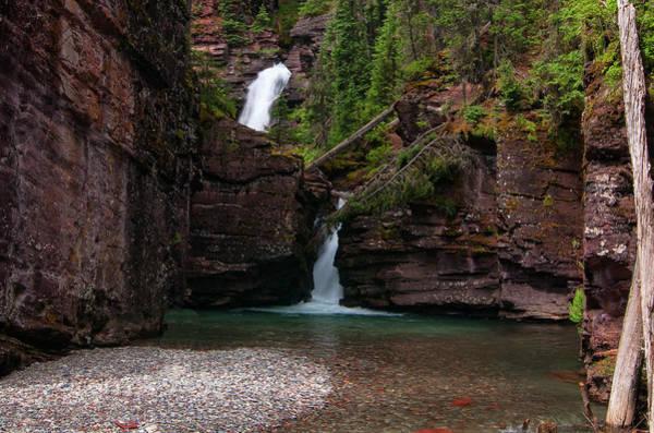 Photograph - South Fork Waterfall by Steve Stuller