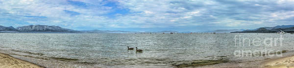 Photograph - South Lake Tahoe Panorama by Joe Lach
