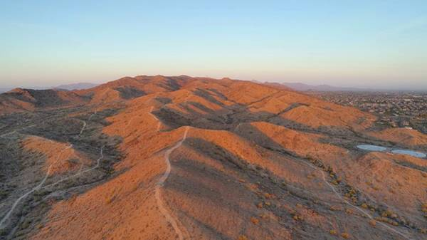 Photograph - South Mountain Sunrise by Ants Drone Photography