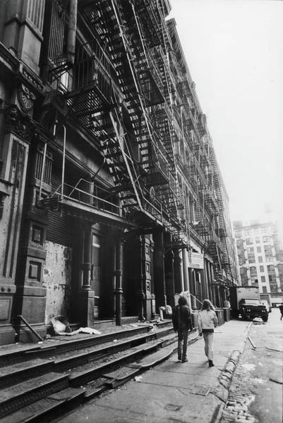 Photograph - South On Greene Street, 1969 by Fred W. McDarrah