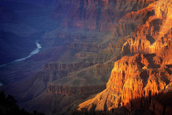 Wall Art - Photograph - South Rim Grand Canyon National Park V by Ricky Barnard