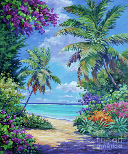 South Beach Painting - South Sound Colors by John Clark