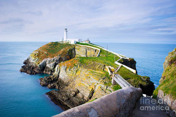 Wall Art - Photograph - South Stack Lighthouse In Anglesey by Juliuskielaitis