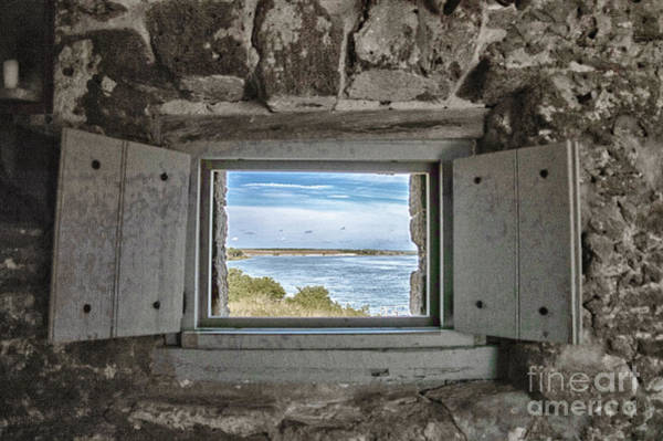 Photograph - South View From Fort Matanzas by Judy Hall-Folde