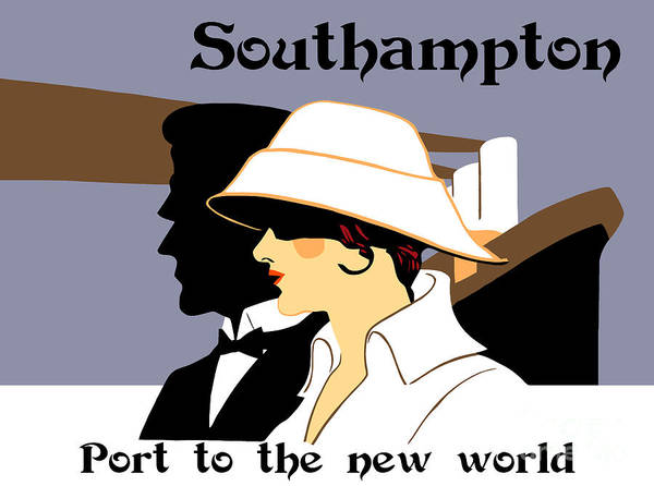 Drawing - Southampton by Aapshop