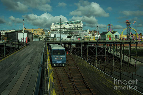 Southend Photograph - Southend Pier And Funfair by Rob Hawkins