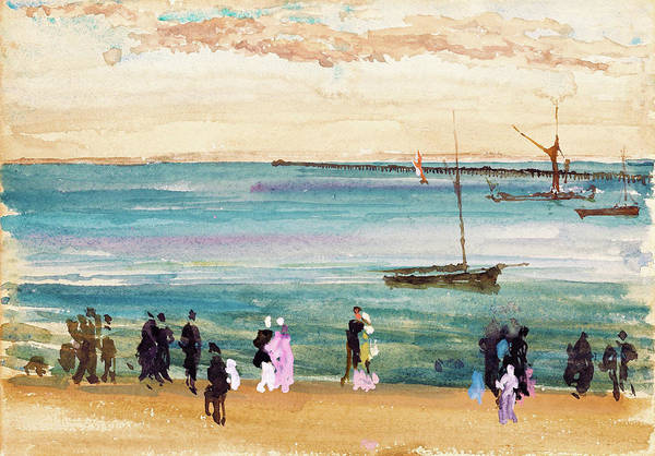 Wall Art - Painting - Southend Pier - Digital Remastered Edition by James McNeill Whistler