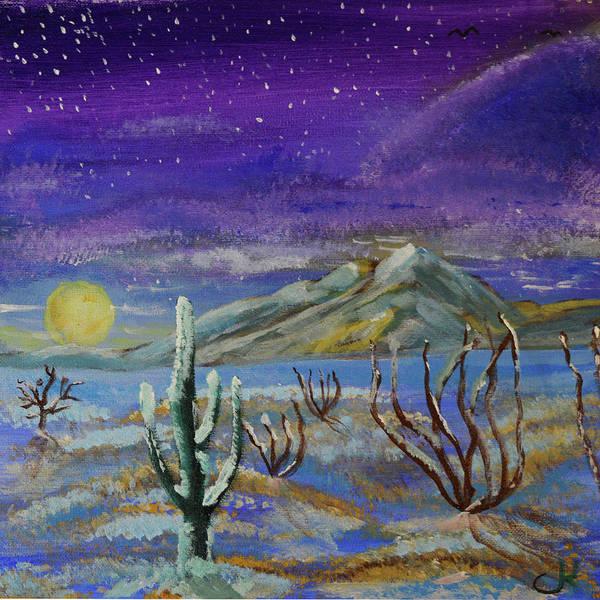 Painting - Southern Arizona Winter Magic  by Chance Kafka