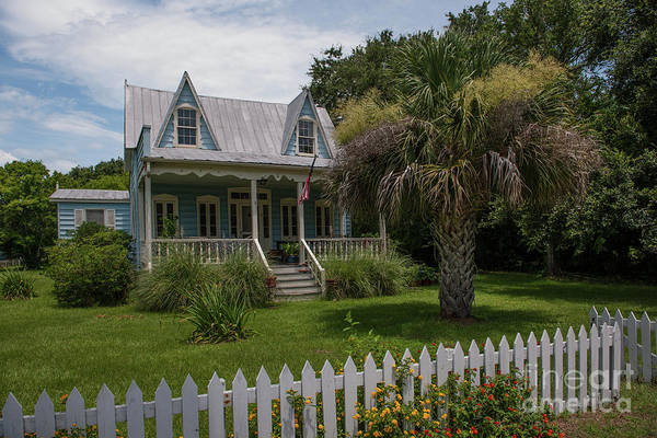 Photograph - Southern Coastal Tin Roof Cottage by Dale Powell