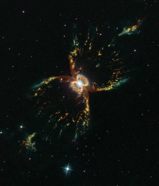Photograph - Southern Crab Nebula by Sebastian Musial