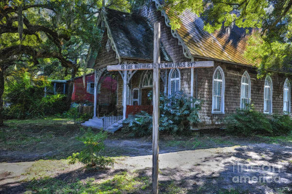 Photograph - Southern Cross - Mcclellanville Sc by Dale Powell